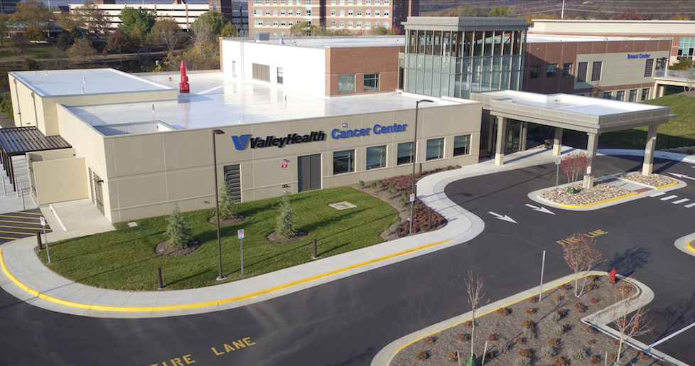 Valley Health Cancer Center – An Aerial Tour