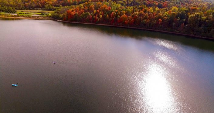 Drone Rocky Gap Kayakers