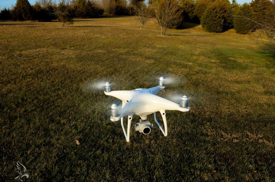 Hawkeye Acquires New DJI Phantom 4 Pro